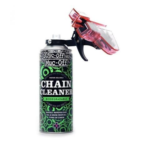Kit Muc-off desengrasante 400ml + aparato limpiador