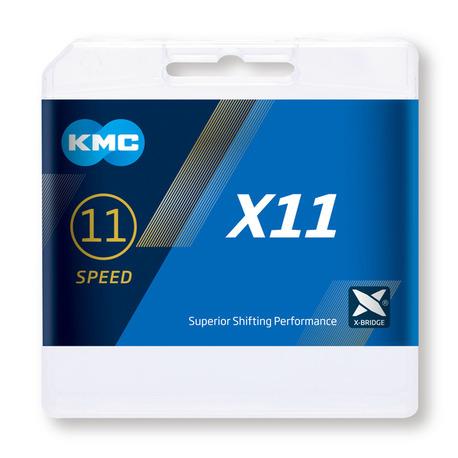 Cadena Kmc X11-gris 118p.index 11v