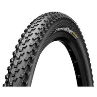 "CUBIERTA CONTINENTAL CROSS-KING 27,5""x2.20 RIGIDA NEGRA"