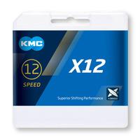 CADENA KMC X12 PLATA 126P 12V - 31149