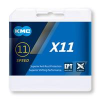 CADENA KMC X11 PLATA/NEGRA 118P 11V - 31230