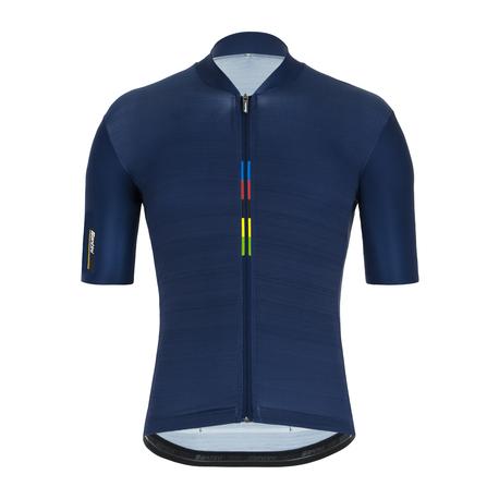 MAILLOT MANGA CORTA SANTINI UCI RAINBOW - RE94275CLASSUCI